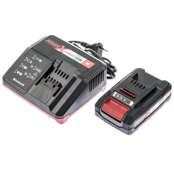 Einhell 45.120.21 Power X-Change 18 Volt Starter-Kit 1,5Ah
