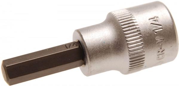 """BGS 2725 Bit-Einsatz, Innen-6-kant 1/4"""" x 48 mm, 10 (3/8)"""