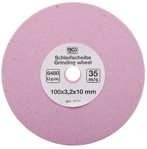 BGS 3177 Ersatz-Schleifscheibe 100x3.2x10mm für Artikel 3303180