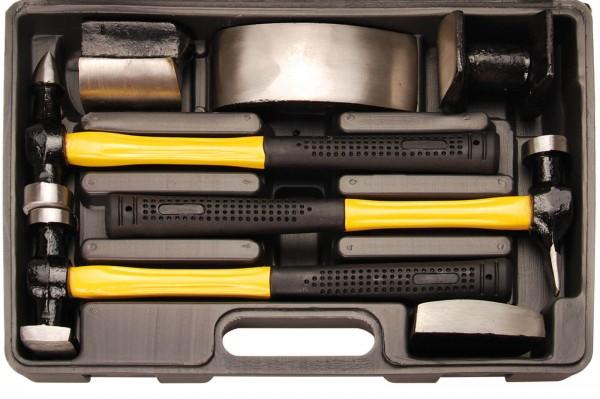 BGS 1670 Karosserie-Ausbeulsatz (Fiberglas)