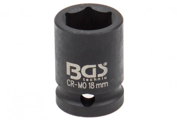 """BGS 5218 Steckschlüssel Einsatz SW 18 mm 1/2"""""""