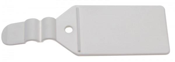 BGS 89921 Kunststoff Nachrüstfahne 40 x 27 mm mit Anlegesteg