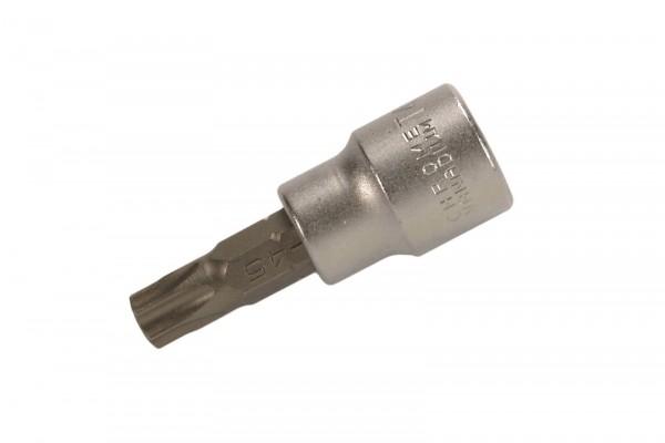 """BGS 2597 Bit-Einsatz, 3/8"""", T-Profil (mit Bohrung), T45"""