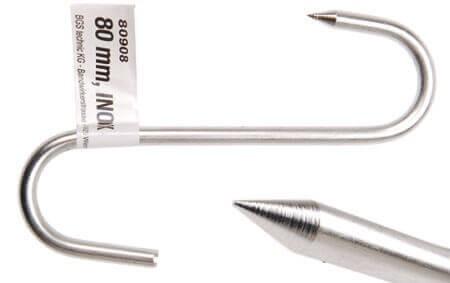 BGS 80908 Fleischerhaken 80 mm INOX