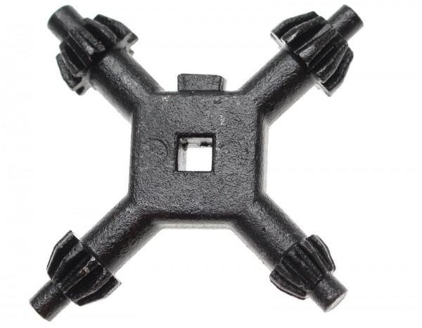 BGS 8955 Universal-Bohrfutter-Kreuzschlüssel