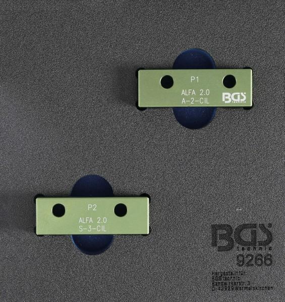 BGS 9266 Nockenwellen-Arretierwerkzeug-Satz für Alfa Romeo 2,0L 16V JTS