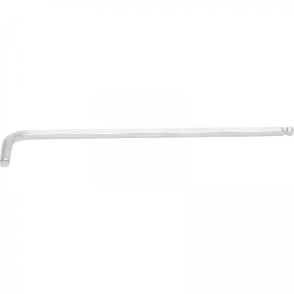 BGS 790-6 Winkelschlüssel, Innen-6-Kant, extra lang 180 mm, 6,0 mm