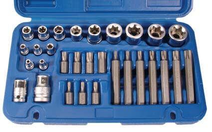 BGS 5025 Torx Steckschlüssel Satz, 30-tlg.