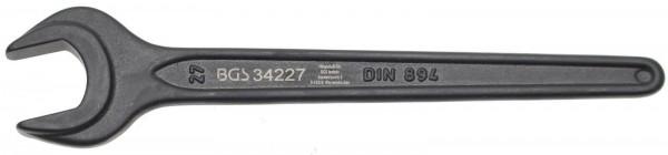 BGS 34227 Einmaulschlüssel, 27 mm