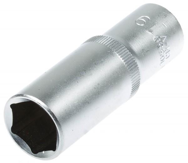 "BGS 10559 Steckschlüssel Einsatz lang Nuss SW 19 mm 1/2"""