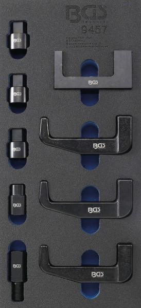 BGS 9457 Injektor-Demontage-Klauen & Adapter-Satz