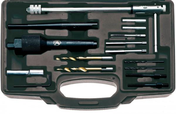 BGS 98297 Glühkerzen-Ausbau- und Gewinde-Reparatur-Set