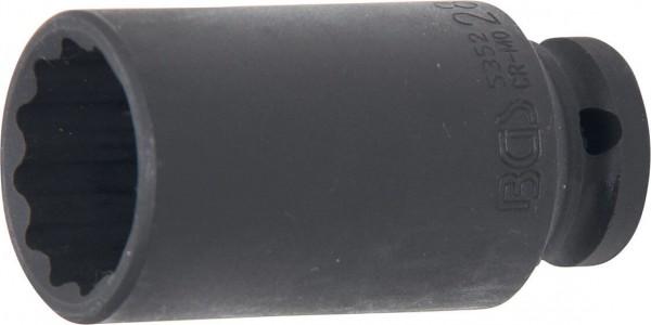 BGS 5352 Kraft-Steckschlüssel-Einsatz, 12-Kant, 28 mm, 12,5 (1/2)