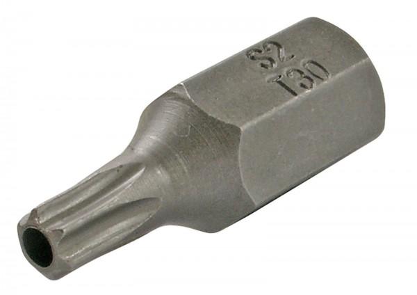 "BGS 4630 T-Profil-Bit, mit Bohrung, 30 mm lang, T30, 3/8"""