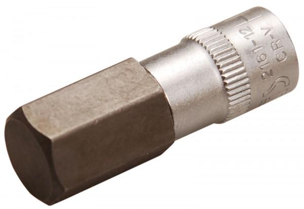 BGS 2161-12 Bit-Einsatz, Innen-6-kant, 6,3 (1/4), 12 mm