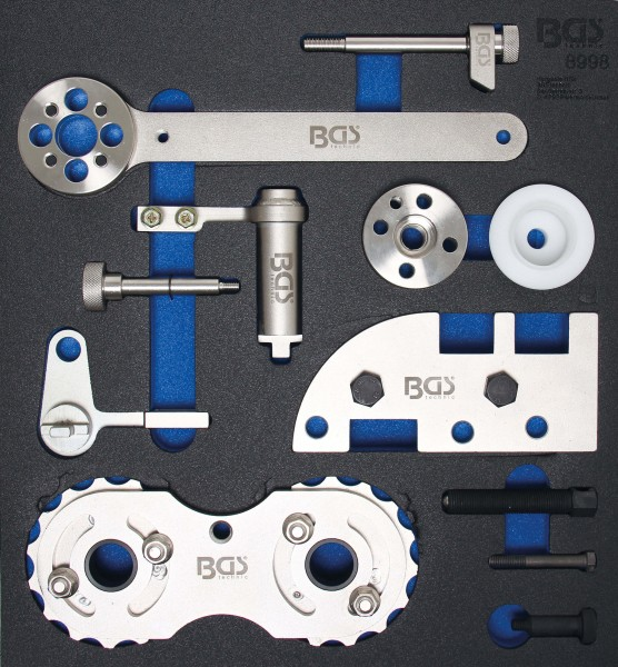 BGS 8998 Motor-Einstellwerkzeug-Satz für Volvo B4204