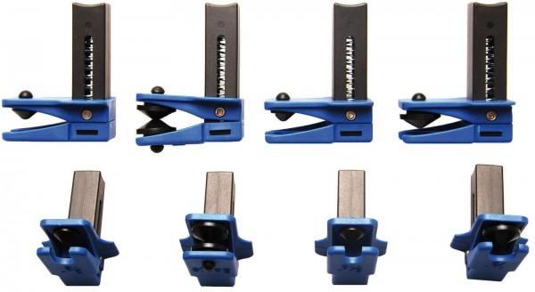 BGS 8705 Stahlleitungs-Verschlussklemmen-Set, 4-tlg.