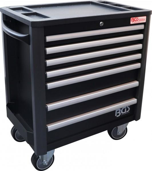 BGS 4102 Werkstattwagen PROFI, 7 Schubladen, leer, geringere Bauhöhe