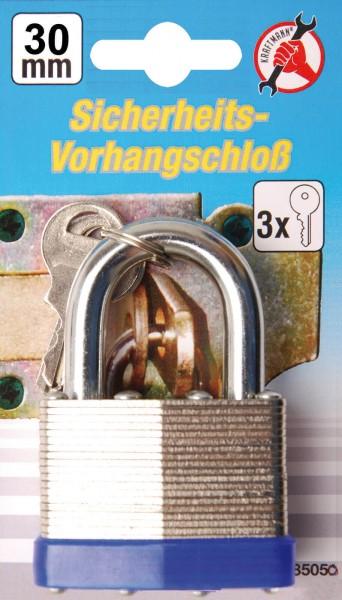BGS 85030 Sicherheits-Vorhängeschloss, 30 mm
