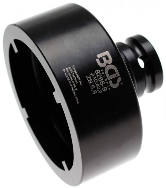 BGS 8266-9 Nutmutter-Einsatz mit Innenzahn, 82x6.0 mm