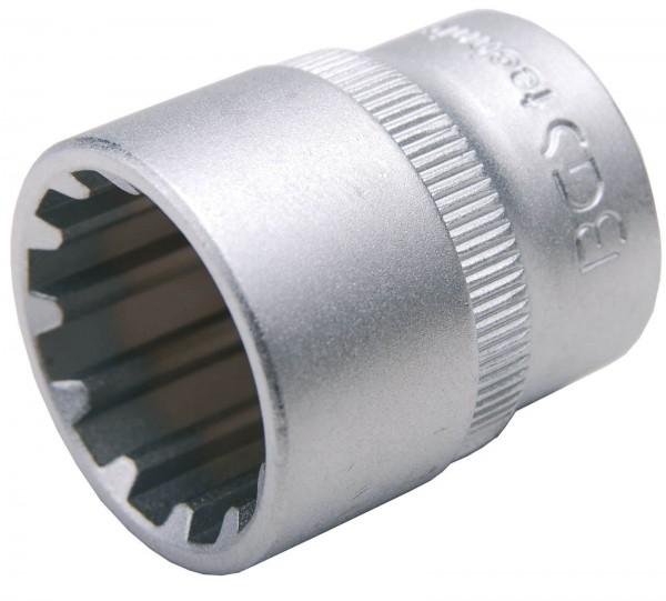 """BGS 10315 Steckschlüssel-Einsatz """"Gear Lock"""", 3/8"""", 15 mm"""