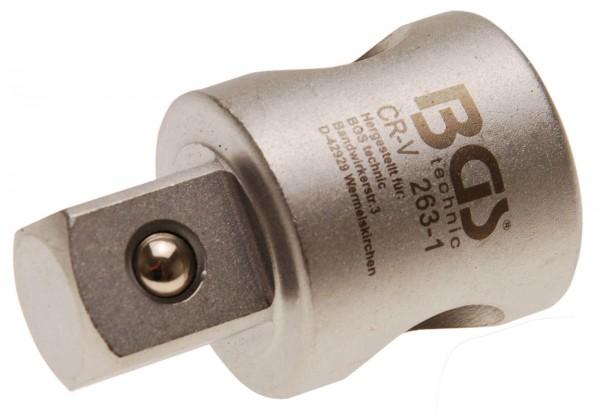 BGS 263-1 Adapter für Gleitgriff, 20 (3/4)