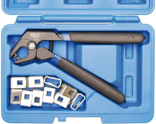 BGS 8774 Karosserie Zange Fixierklammern Werkzeug Set