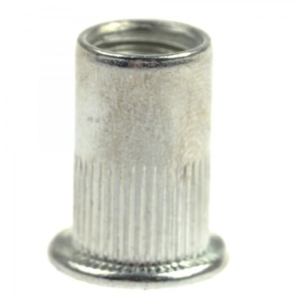 Asta A-RM10/OPAK Nietmuttern mit Flachkopf M10, 50-Stck.
