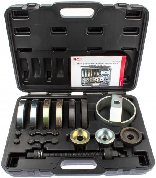 BGS 6250 Radlager Werkzeug Set für VAG 62, 66, 72 mm