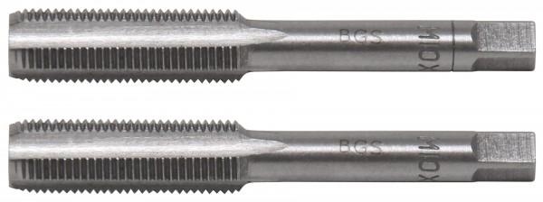 BGS 1900-M10X1.0-B Gewindebohrer M10x1.0, Vor- & Fertigschneider, 2-tlg.