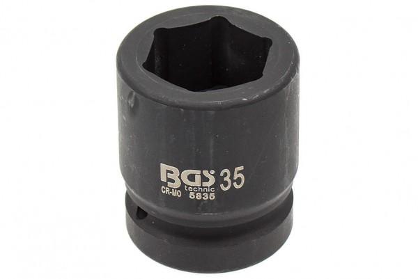 """BGS 5835 Steckschlüssel SW 35 mm 1"""" Antrieb"""