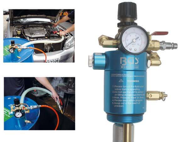 BGS 9210 Druckluft Ölpumpe für Ölfässer
