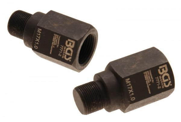 BGS 7771-2 Injektoren-Demontageadapter M17xM20x52 mm