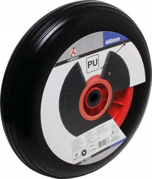 BGS 80655 PU-Rad für Schubkarre, schwarz, 400 mm