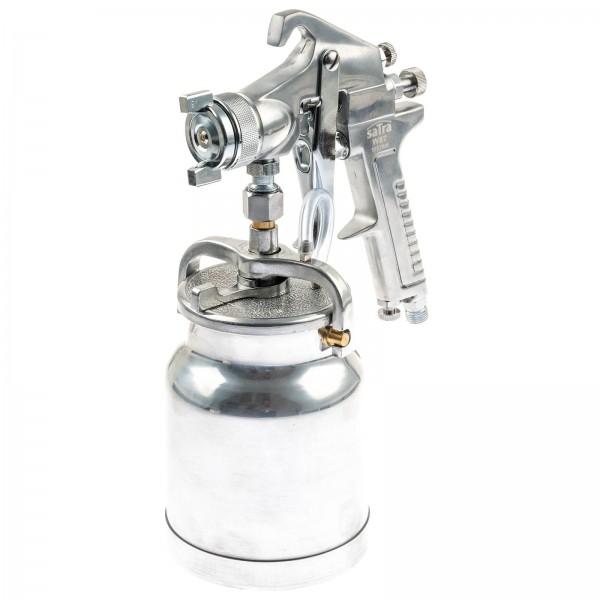 Asta W97-1,8 Druckluft Lackier und Sprühpistole mit 1 Liter Saugbecher