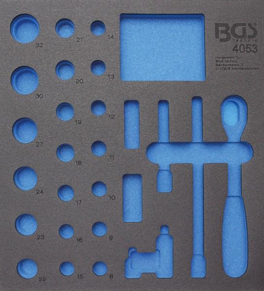 BGS 4053-1 2/3 WWE, leer für: Steckschlüsselsatz 12,5 (1/2), 27-tlg.