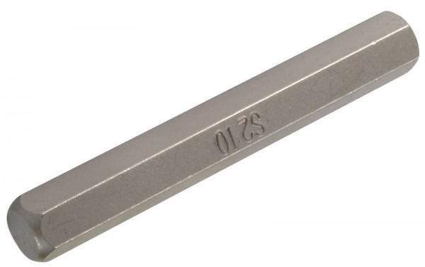 """BGS 4964 Bit-Einsatz Innensechskant, 10 mm (3/8"""") lange Ausführung"""