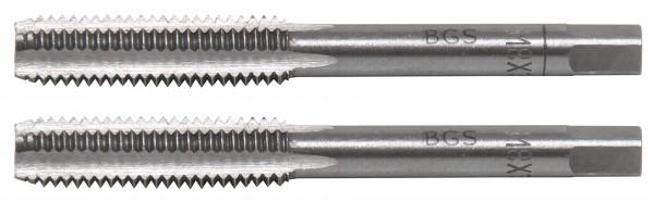 BGS 1900-M8X1.25-B Gewindebohrer M8x1.25, Vor- & Fertigschneider, 2-tlg.