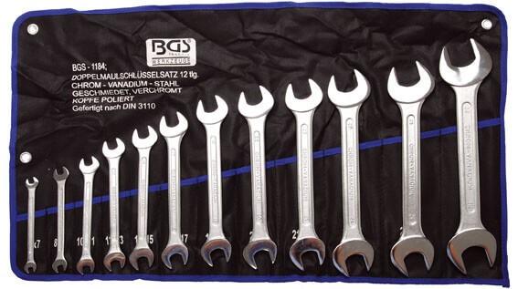 BGS 1184 Doppel-Maulschlüssel Satz 12-tlg. 6-32 mm