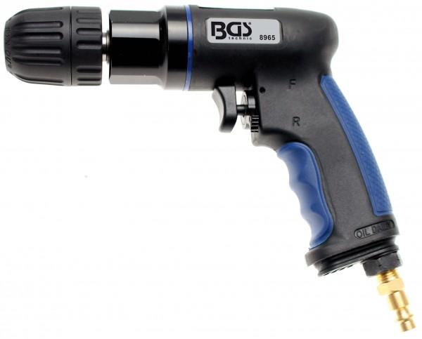 BGS 8965 Druckluft-Bohrmaschine mit 10 mm Schnellspannfutter, Verbundgehäuse