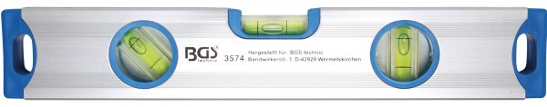 BGS 3574 Aluminium-Wasserwaage 300 mm