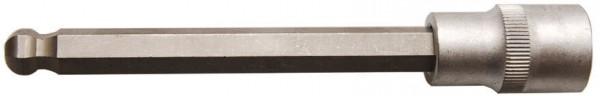 "BGS 4258-10 Innensechskant Steckschlüssel SW 10 x 140 mm 1/2"""