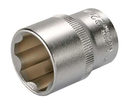 """BGS 2422 Steckschlüssel-Einsatz SW 22 mm 1/2"""" Super Lock"""