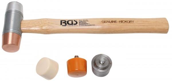BGS 9176 Wechselkopf-Hammer Set 6-tlg.