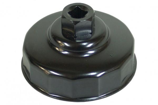 BGS 1019-74 Ölfilterkappe 74 mm x 14-kant