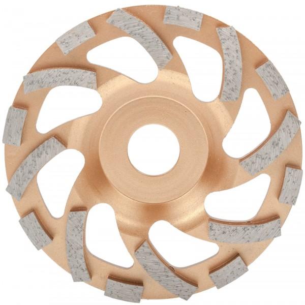 Pretool 100142 Diamant Turbo Flächenschleifscheibe 125 mm Beton Estrich