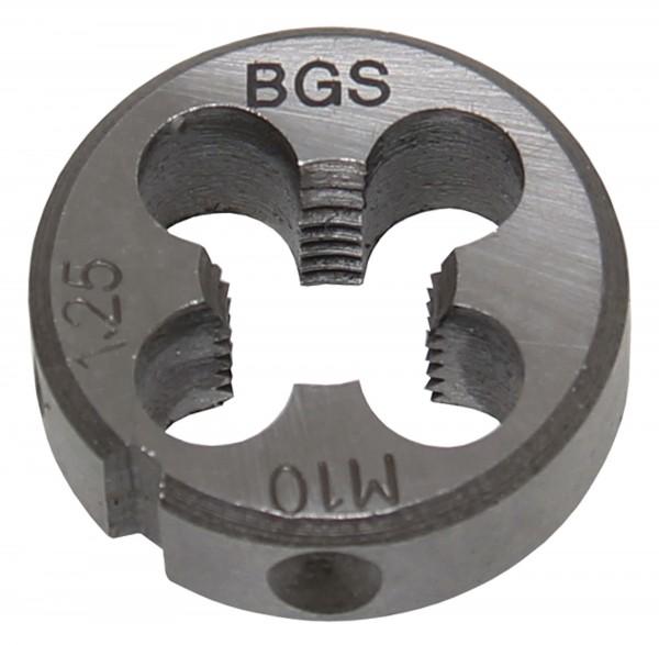 BGS 1900-M10X1.5-S Gewindeschneideisen M10x1.5x25 mm