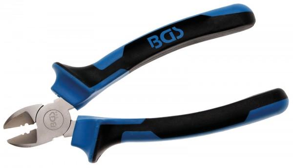 BGS 394 Seitenschneider, 165 mm lang, Abisolier-Funktion