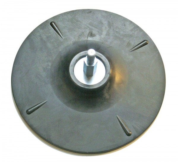BGS 3074 Gummistützscheibe, 125 mm