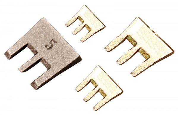 BGS 86674 S-Fix Hammer Krallenkeile-Satz, 4-tlg.